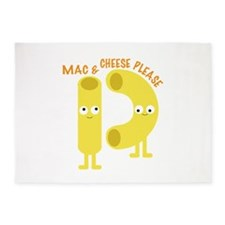 macaroni_mac and cheese please 5'x7'Area Rug