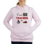 Teachers Do It With Class Women's Hooded Sweatshir