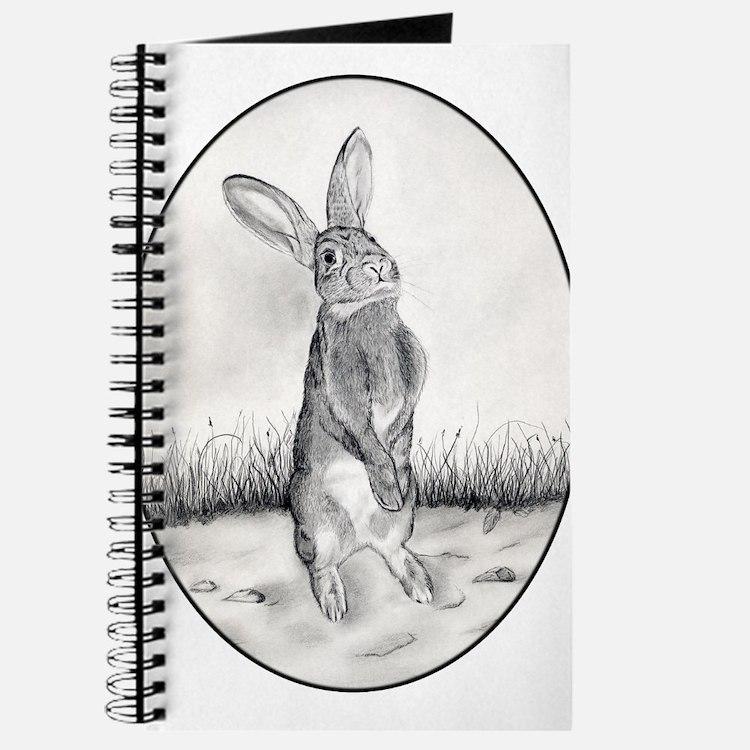 Cute Rabbit drawings Journal