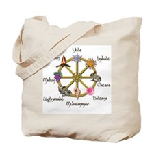 Wheel of the Year 1 Tote Bag