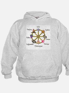 Wheel of the Year 1 Hoodie