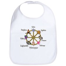 Wheel of the Year 1 Bib