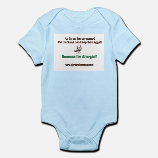 #1 Egg Allergy t-shirt & accessories Body Suit