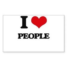 I love People Decal