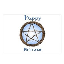 Happy Beltane 2 Postcards (Package of 8)