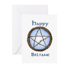 Happy Beltane 2 Greeting Cards (Pk of 10)