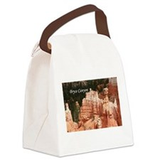 Bryce Canyon, Utah 3 (caption) Canvas Lunch Bag