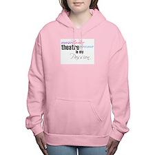 Theatre is my passion Women's Hooded Sweatshirt