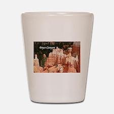 Bryce Canyon, Utah 3 (caption) Shot Glass