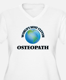 World's Most Clever Osteopath Plus Size T-Shirt