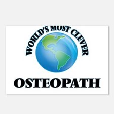 World's Most Clever Osteo Postcards (Package of 8)