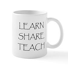 Learn Share Teach Mug