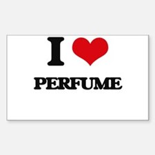 I Love Perfume Decal