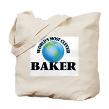 World's Most Clever Baker Tote Bag