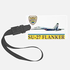 su-27_flanker_russian_top_gun.pn Luggage Tag