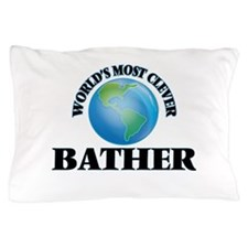 World's Most Clever Bather Pillow Case