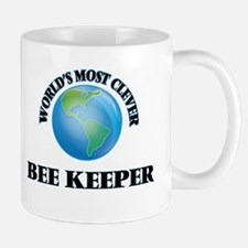 World's Most Clever Bee Keeper Mugs