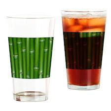 Green Bamboo Drinking Glass