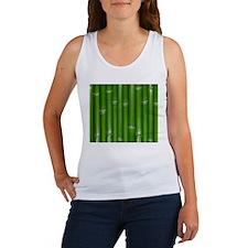 Green Bamboo Tank Top