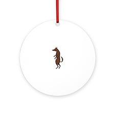 Bad Wolf Ornament (Round)