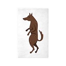 Bad Wolf Area Rug