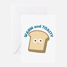 bread warm and toasty Greeting Cards