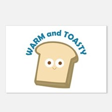 bread warm and toasty Postcards (Package of 8)