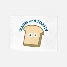 bread warm and toasty 5'x7'Area Rug