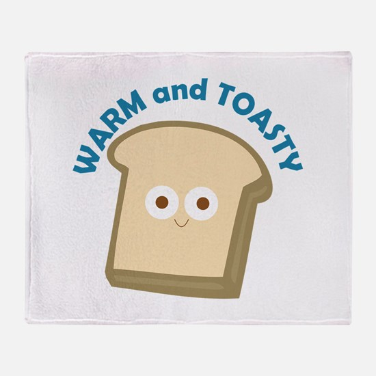 bread warm and toasty Throw Blanket