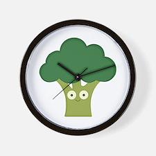 broccoli base Wall Clock