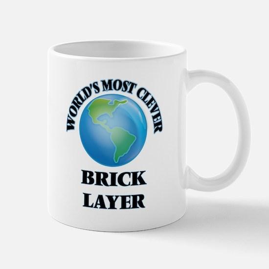 World's Most Clever Brick Layer Mugs