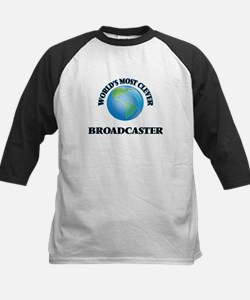 World's Most Clever Broadcaster Baseball Jersey
