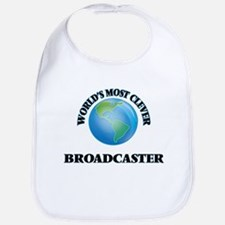 World's Most Clever Broadcaster Bib