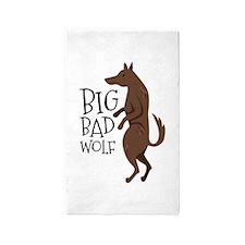 Big Bad Wolf Area Rug