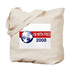 I'm With Fred Tote Bag