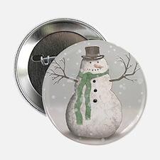 """Snowman 2.25"""" Button (10 pack)"""