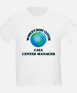 World's Most Clever Call Center Manager T-Shirt