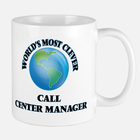 World's Most Clever Call Center Manager Mugs