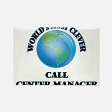 World's Most Clever Call Center Manager Magnets