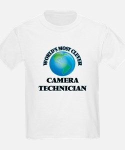 World's Most Clever Camera Technician T-Shirt