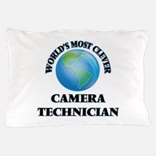 World's Most Clever Camera Technician Pillow Case