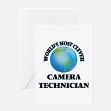 World's Most Clever Camera Technici Greeting Cards