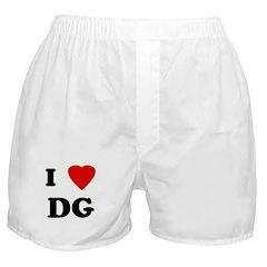 I Love DG Boxer Shorts