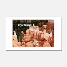 Bryce Canyon, Utah 3 (caption) Car Magnet 20 x 12