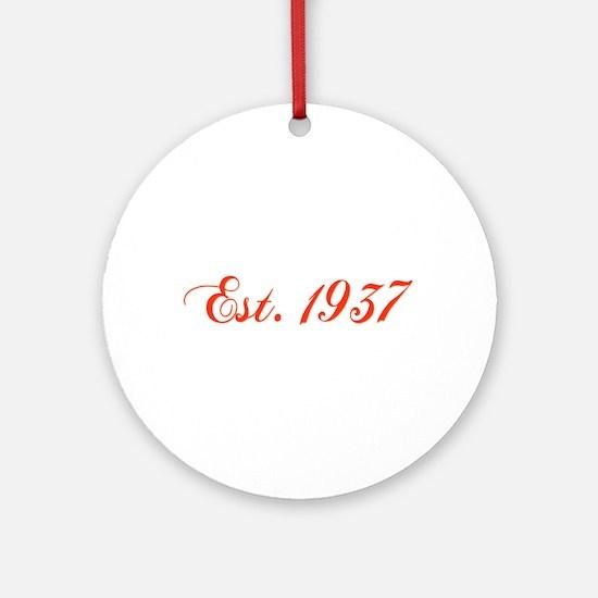 1937 Ornament (Round)