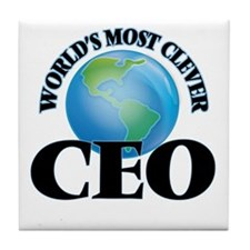 World's Most Clever Ceo Tile Coaster