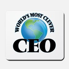 World's Most Clever Ceo Mousepad