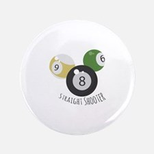 "8Ball StraightShooter 3.5"" Button"
