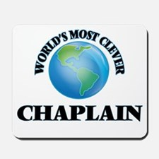 World's Most Clever Chaplain Mousepad
