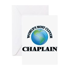 World's Most Clever Chaplain Greeting Cards